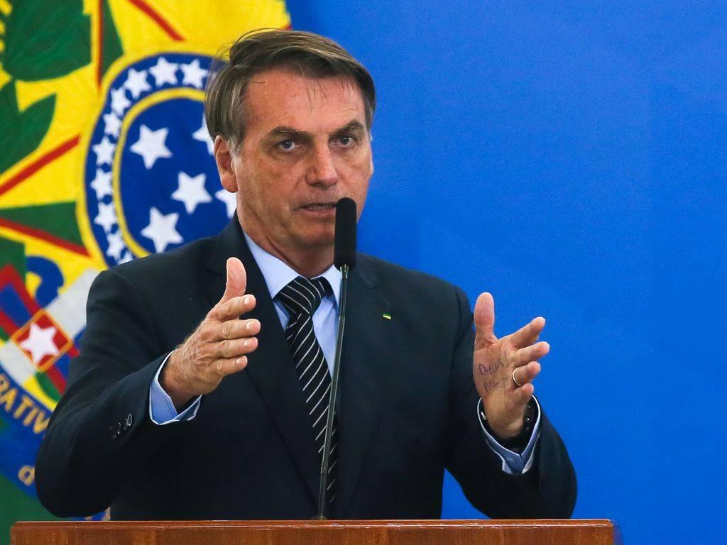 """Bolsonaro ABr - Bolsonaro diz que o agronegócio """"não tem nada a reclamar"""" do governo federal"""