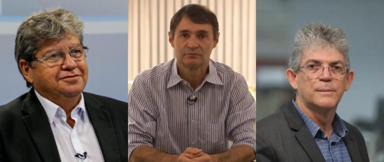 COLAGEM 1 - João X Romero X Ricardo, 2022 já começou... - Por Rui Galdino