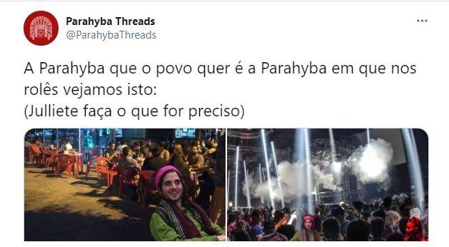 Capturar 56 - Juliette e Fiuk: fãs do BBB se empolgam com flerte e viralizam memes planejando vida do cantor na Paraíba