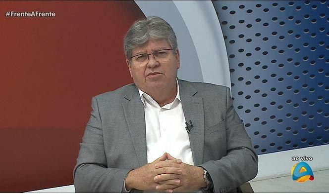 Capturar.JPGaaa - 'A falta de consciência coletiva é um absurdo, uma vergonha', diz governador João Azevedo sobre vacinação contra a Covid-19