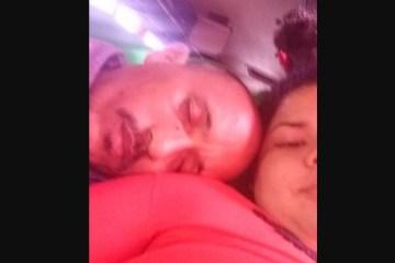 Capturar.JPGqqq - Casal tirou foto horas antes de acidente de ônibus que matou 19 no Paraná