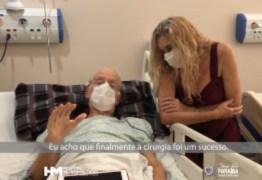 EMOCIONANTE: cidadão suíço que passou por cirurgia urgente no Hospital Metropolitano agradece atendimento da equipe – VEJA VÍDEO