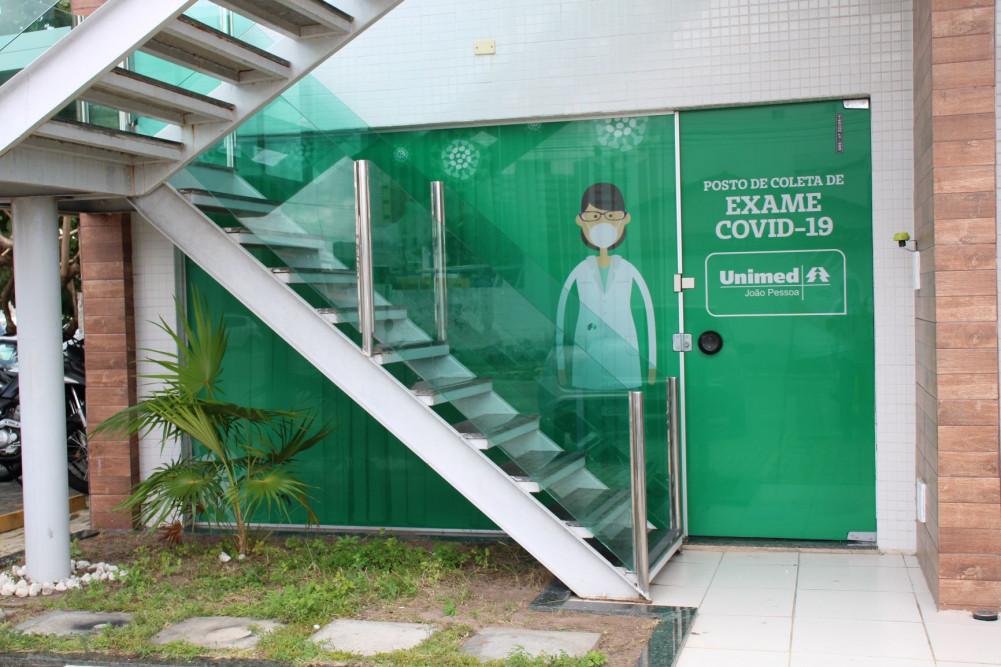 Posto de Coleta Covid Torre - Unimed João pessoa abre novo posto para realização de testes de covid-19