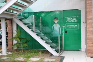 Unimed João pessoa abre novo posto para realização de testes de covid-19