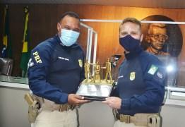 Chefe da Delegacia da PRF em Campina Grande recebe título de cidadão campinense
