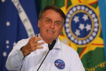 """Com Manaus sem oxigênio, Bolsonaro pede """"calma"""" sobre vacinação"""