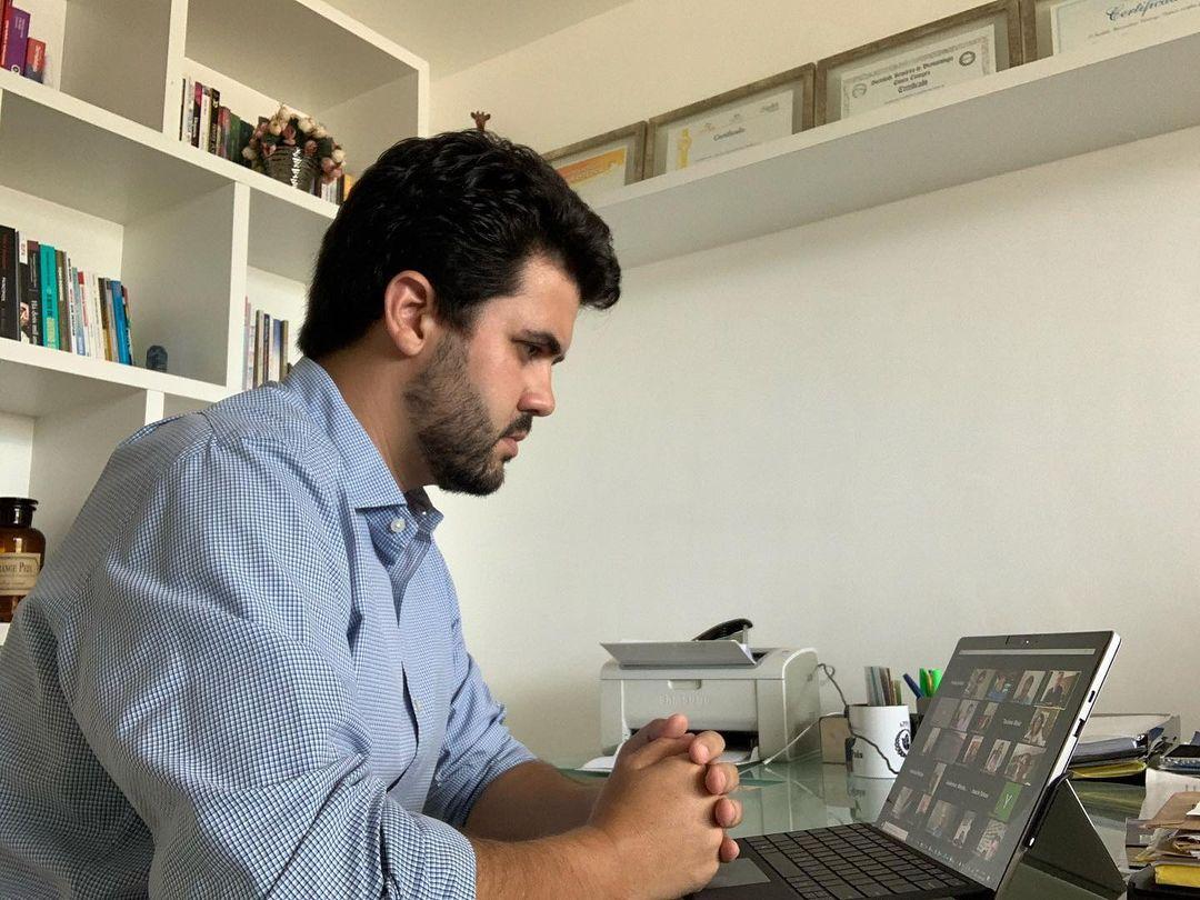 Com oito leis aprovadas, Wilson Filho foi um dos que mais trabalhou em 2020 na proteção à saúde dos paraibanos durante a pandemia