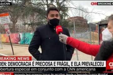 WhatsApp Image 2021 01 20 at 15.31.19 1 - Nos Estados Unidos, Samukinha concede entrevista à CNN e comenta posse de Joe Biden: 'parece um filme'