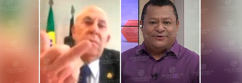 """WhatsApp Image 2021 01 21 at 14.12.36 - Nilvan comenta gesto obsceno de Ney Suassuna e diz que o senador sempre foi um trapalhão: """"foi traído pelo despreparo"""" - VEJA VÍDEO"""