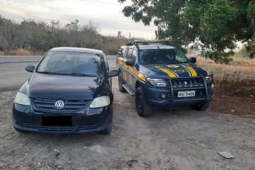 WhatsApp Image 2021 01 26 at 13.10.38 - PRF na Paraíba recupera veículo roubado em São Paulo