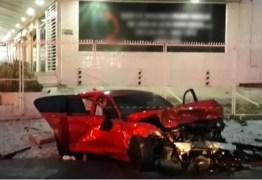 CARRO DE CORRIDA: Perito conclui que BMW que provocou morte de baterista não poderia trafegar em via pública