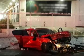 acidente baterista - CARRO DE CORRIDA: Perito conclui que BMW que provocou morte de baterista não poderia trafegar em via pública