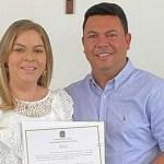 aliny povão e1611848386842 - NEPOTISMO: prefeita de Cruz do Espírito Santo, Aliny Povão nomeia esposo, irmã e família do ex-prefeito para compor secretariado - VEJA A LISTA