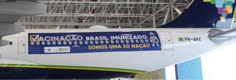 """aviao vacina - Avião vai buscar vacina na Índia """"daqui a dois, três dias"""", diz Bolsonaro"""