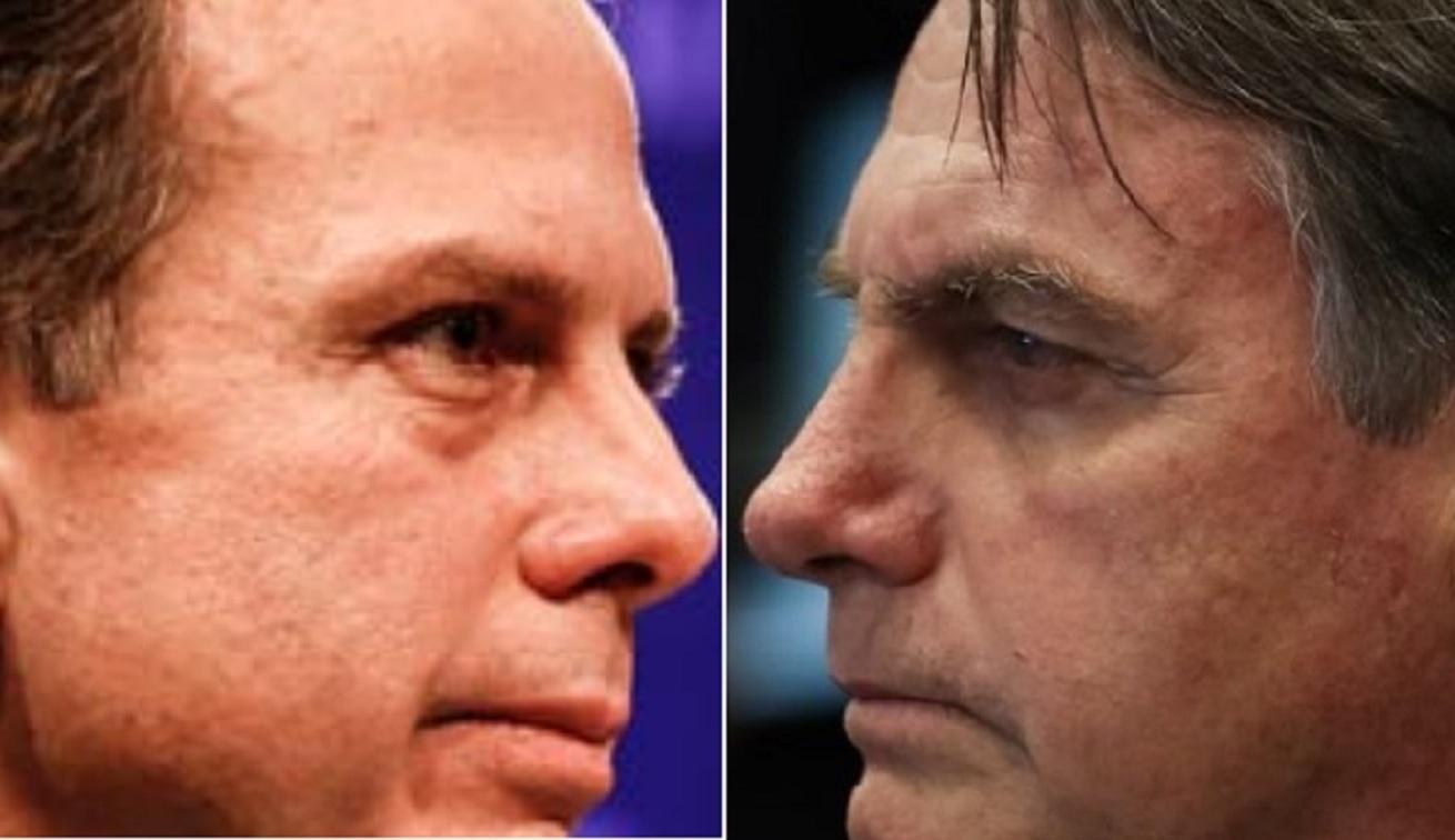 bolsodoria - VACINA POLÍTICA: Bolsonaro e Doria correm para 'tirar primeira foto', após Anvisa aprovar imunizantes