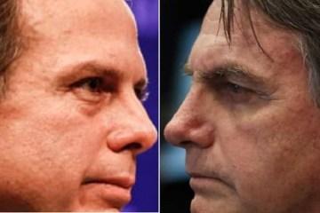 VACINA POLÍTICA: Bolsonaro e Doria correm para 'tirar primeira foto', após Anvisa aprovar imunizantes