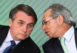 Última hora: Paulo Guedes interrompe as férias e vai a reunião convocada por Bolsonaro, no Palácio doPlanalto