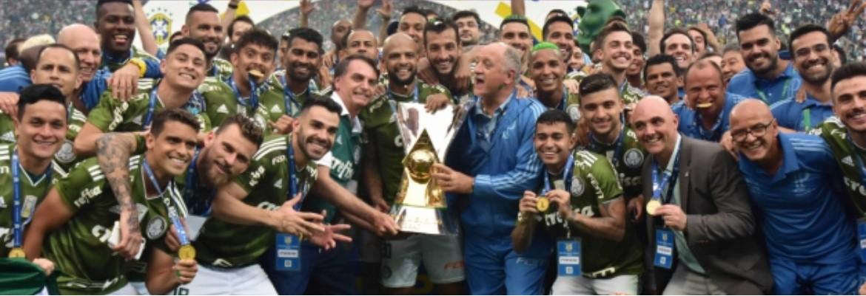 bolsonaro palmeiras - Protocolo da Conmebol proíbe político entregando taça na final da Libertadores