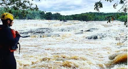 cachoeira troia rio lambari mg 08012021160135955 - Homem morre ao tentar fazer 'selfie' em cachoeira