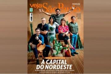 """capa veja nordeste - Veja elege SP como """"capital do Nordeste"""" e capitais nordestinas se manifestam"""