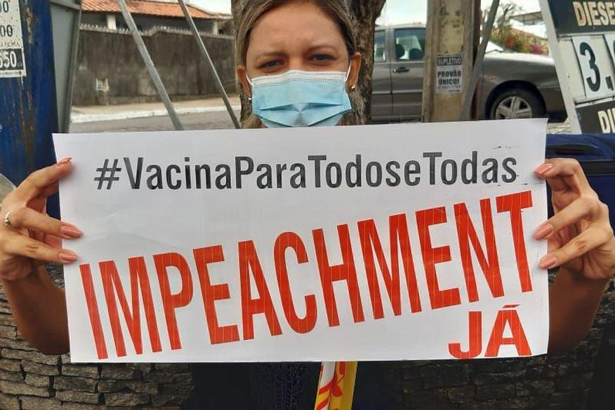 carreata1 - Segunda carreata 'Fora Bolsonaro' acontece neste domingo, em João Pessoa