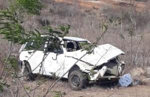 carro capota e mata 7 pessoas caririparaibano vitrine - TRAGÉDIA NO CARIRI: Duas crianças morrem em acidente de carro na zona rural de Alcantil