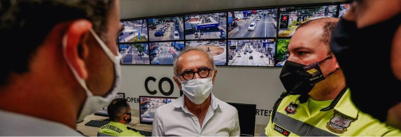 cicero semob - Cícero Lucena vai revisar segurança de trechos de ciclofaixas em João Pessoa