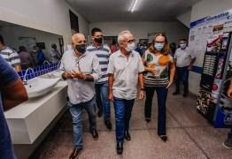 Em visita à maternidade Cândida Vargas, Cícero anuncia nova sala cirúrgica e compra de equipamentos
