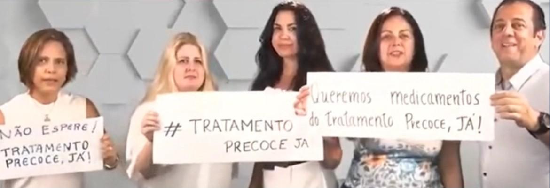 clipe negacionistas - NEGACIONISTAS, O MUSICAL: Apoiadores de Jair Bolsonaro gravam clipe defendendo tratamento precoce da Covid-19 - VEJA VÍDEO