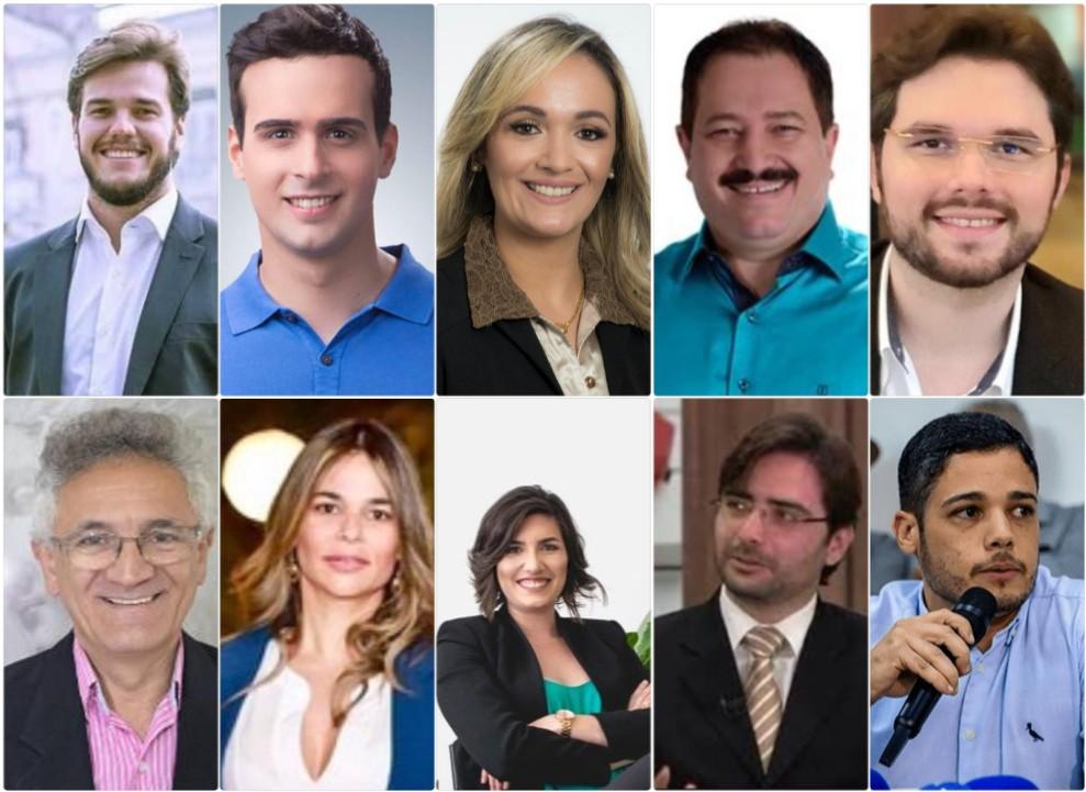 collage 996 - GESTÃO DA ADVOCACIA: advogados são maioria no secretariado de Bruno Cunha Lima em Campina Grande - Confira