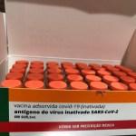 coronavac - Paraíba receberá mais 16.600 doses de CoronaVac nesta segunda-feira