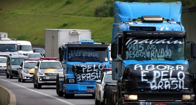 diferenca entre a paralisacao dos caminhoneiros de 2015 e 2018 - Rodovias da Paraíba serão bloqueadas para caminhões durante paralisação da próxima segunda-feira