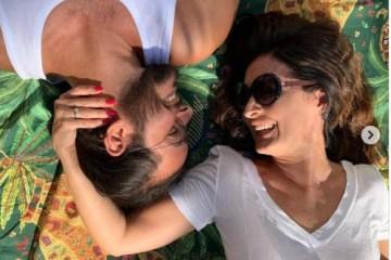 fat - Fátima Bernardes encanta ao postar clique com Túlio Gadêlha e se declara: Ele deixa meus dias mais leves