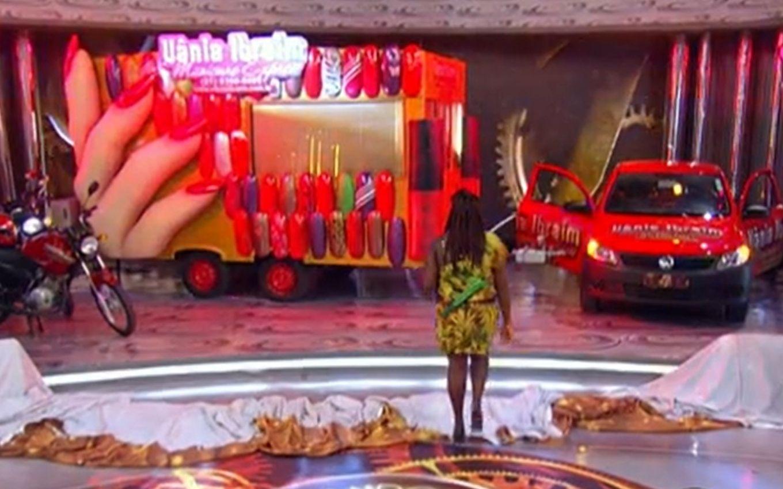 globo luciano huck caldeirao justica vania manicure trailer foto reproducao - Justiça condena Tv Globo a indenizar manicure que ganhou prêmios no Caldeirão do Huck