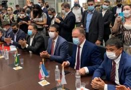 Em carta, João Azevêdo e mais 14 governadores pedem, ao Governo Federal, ação da diplomacia para compra de vacinas; Veja os nomes