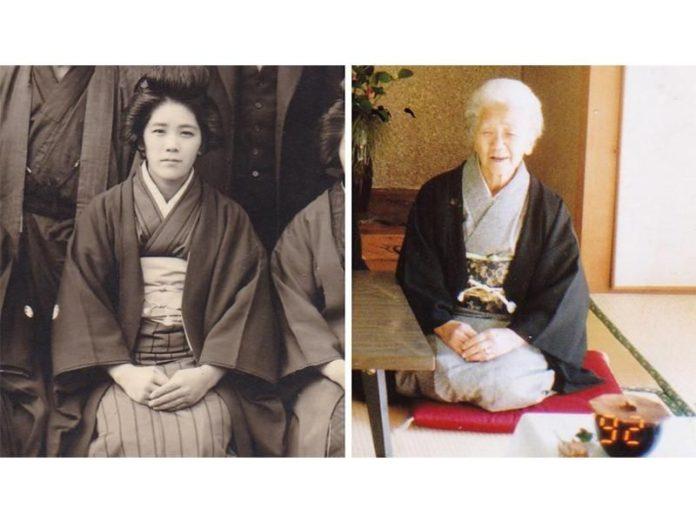 kane tanaka 696x522 1 - PARABÉNS! Pessoa mais idosa do mundo faz aniversário de 118 anos
