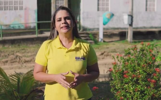 karla pimentel - Prefeita Karla Pimentel e vereadores tomam posse no Conde - LEMBRE QUEM SÃO