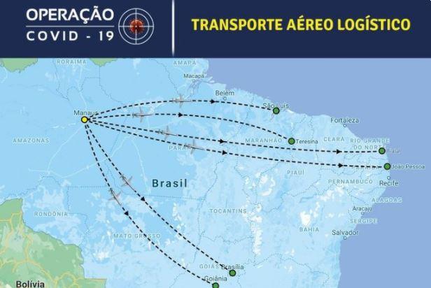 man - Voo de Manaus para João Pessoa deve acontecer ainda nesta sexta-feira (15), segundo a FAB