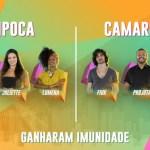 """pipoca camarote - Paraibana começa BBB imune; público elege seis """"Brothers"""" para ficarem imunes na primeira semana"""