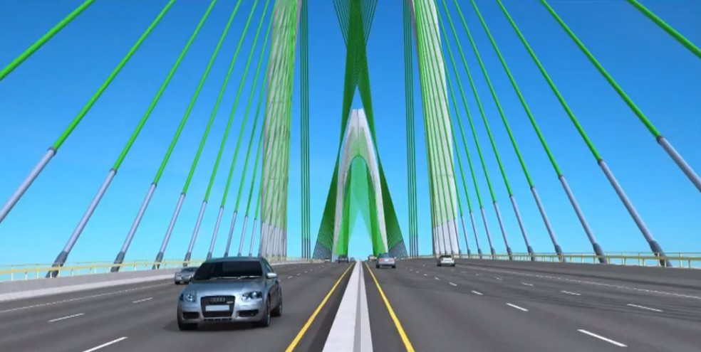 pontesalvadoritaparica - 12,4 KM: Rui Costa sanciona fundo garantidor da Ponte Salvador-Itaparica - VEJA VÍDEO