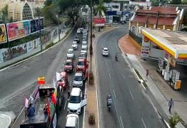 Manifestantes pedem impeachment de Bolsonaro em João Pessoa – VEJA IMAGENS E VÍDEOS