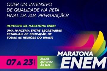 tv assembleia enem e1611235742157 - Maratona ENEM: TV Assembleia transmite em canal aberto bizurada para provas do exame