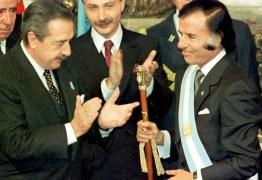 Ex-presidente da Argentina, Carlos Menem, morre aos 90 anos