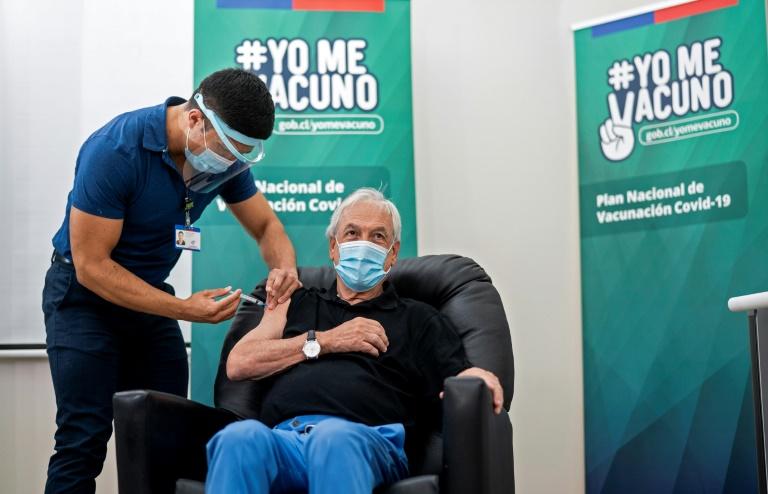5991e4aaa03fbe65f72a52bdeec42d8848a114b8 - Presidente do Chile recebe primeira dose e país supera 1,5 milhão de vacinados