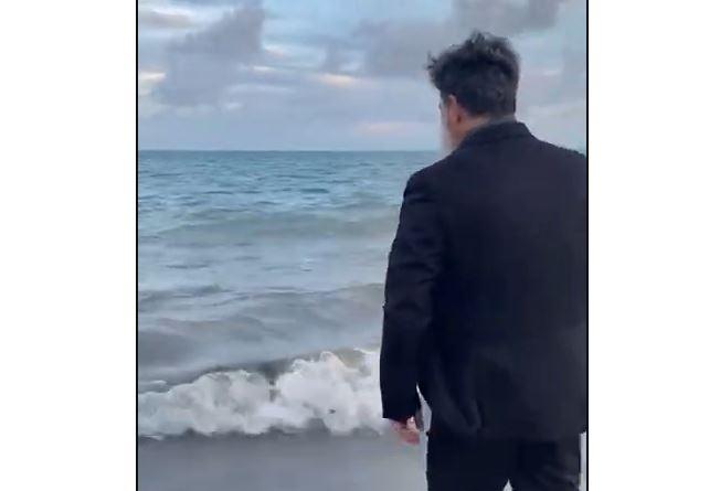 Capturar.JPGu  - 'Mais tempo com a família': Juiz paraibano comemora aposentadoria pulando no mar de paletó - VEJA VÍDEO