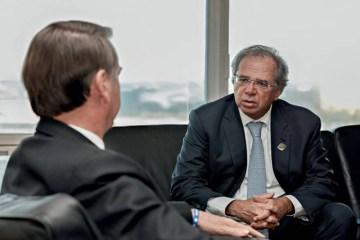 JAIR BOLSONARO PAULO GUEDES 2019 7708.jpg 1 - PETROBRAS: Bolsonaro confrontou Paulo Guedes e minou imagem liberal do governo