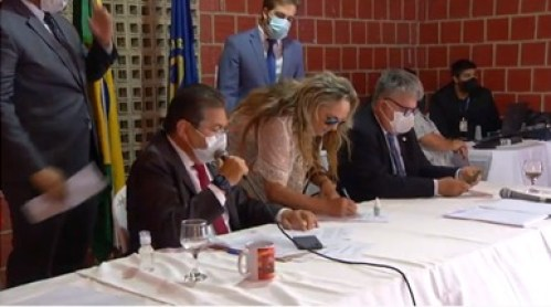 WhatsApp Image 2021 02 01 at 12.52.37 - Posse da doutora Paula na 3ª Secretaria da ALPB marca presença do Sertão na nova Mesa Diretora do Poder Legislativo estadual