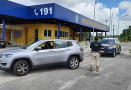 PRF na Paraíba recupera cinco veículos roubados durante Operação Carnaval 2021