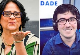 """ROMANCE NO AR! Durante entrevista, ministra Damares diz estar solteira e dá cantada em repórter da Paraíba: """"Manda o currículo, Felipe"""""""