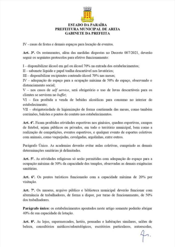 "WhatsApp Image 2021 02 22 at 10.43.20 726x1024 1 - Município da Paraíba decreta ""toque de recolher"" e fecha bares, hotéis e pousadas por 30 dias para coibir coronavírus"